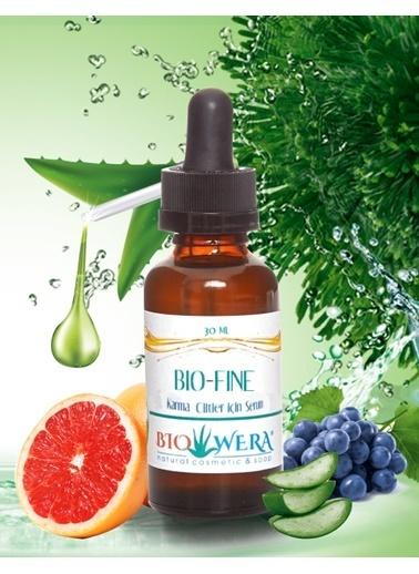 Biowera Bio-Fine Yüz Nemlendirici Serum - 30 Ml - Karma Ciltler İçin Renksiz